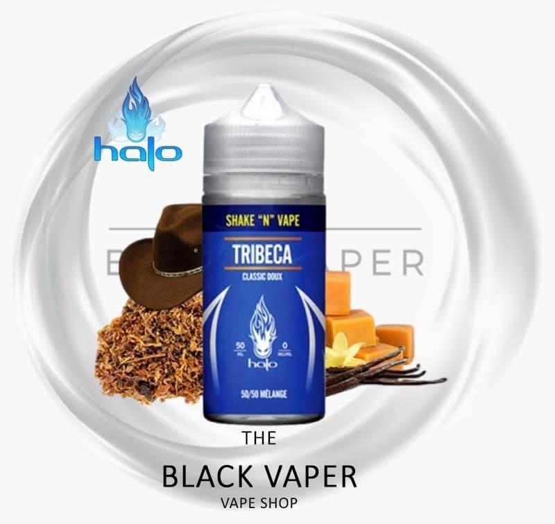 Tribeca de Halo tiene un sabor a tabaco suave con notas de vainilla y caramelo.